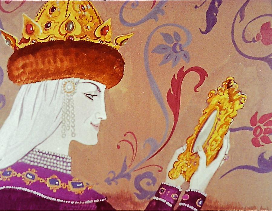 Зеркальце царицы картинка